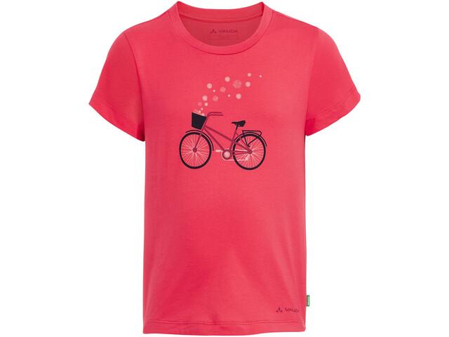 VAUDE Lezza Camiseta Niños, bright pink/cranberry